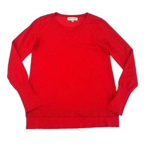 Philosophy Republic Clothing Red Crew neck Sweater